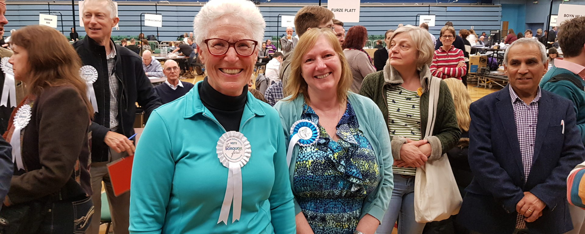 Helen Price and Carole Da Costa Clewer and Dedworth East