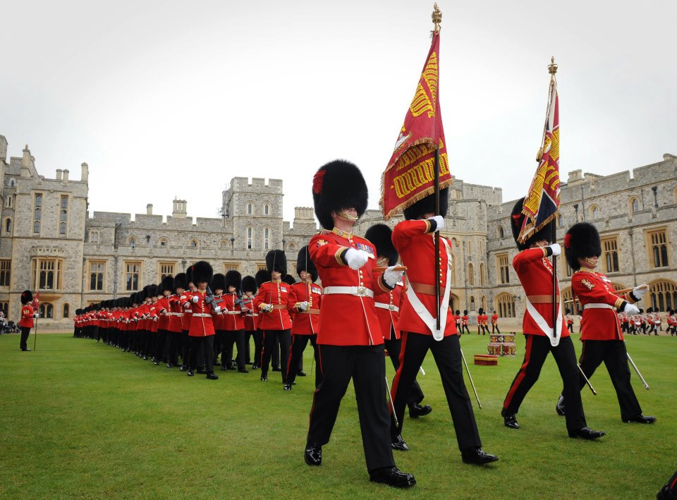 Coldstream Guards The Band Of H.M. Coldstream Guards God Save The King / God Bless The Prince Of Wales